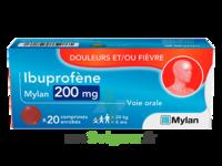Ibuprofene Mylan 200 Mg, Comprimé Enrobé à Lherm