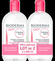 Crealine Ts H2o Solution Micellaire Sans Parfum Nettoyante Apaisante 2fl/500ml à Lherm