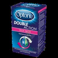 Optone Double Action Solution Oculaire Yeux Secs Fl/10ml à Lherm