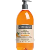 Savon De Marseille Mandarine-sauge 1l Comptoir Du Bain à Lherm