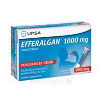 Efferalgan 1g Cappuccino Granules 8 Sachets à Lherm