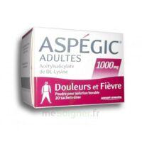 ASPEGIC ADULTES 1000 mg, poudre pour solution buvable en sachet-dose 20 à Lherm