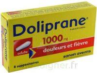Doliprane 1000 Mg Suppositoires Adulte 2plq/4 (8) à Lherm