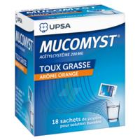 MUCOMYST 200 mg Poudre pour solution buvable en sachet B/18 à Lherm