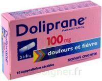 DOLIPRANE 100 mg Suppositoires sécables 2Plq/5 (10) à Lherm
