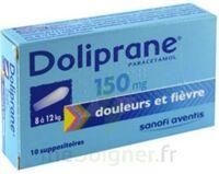 DOLIPRANE 150 mg Suppositoires 2Plq/5 (10) à Lherm