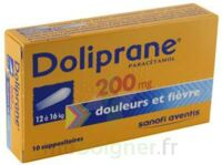 DOLIPRANE 200 mg Suppositoires 2Plq/5 (10) à Lherm