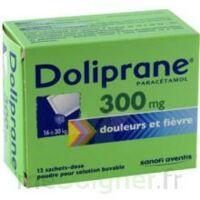 Doliprane 300 Mg Poudre Pour Solution Buvable En Sachet-dose B/12 à Lherm