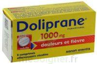 DOLIPRANE 1000 mg Comprimés effervescents sécables T/8 à Lherm