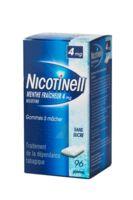 NICOTINELL MENTHE FRAICHEUR 4 mg SANS SUCRE, gomme à mâcher médicamenteuse 8Plq/12 à Lherm