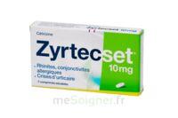 ZYRTECSET 10 mg, comprimé pelliculé sécable à Lherm