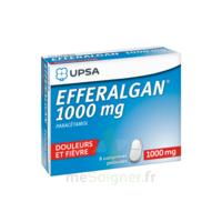 Efferalgan 1000 mg Comprimés pelliculés Plq/8 à Lherm