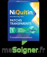 NIQUITIN 21 mg/24 heures, dispositif transdermique Sach/7 à Lherm