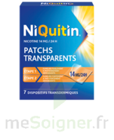 NIQUITIN 14 mg/24 heures, dispositif transdermique Sach/7 à Lherm