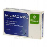 MILDAC 600 mg, comprimé enrobé à Lherm