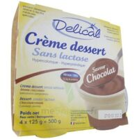 Delical Creme Dessert Hp Hc Sans Lactose, Pot 200 G X 4 à Lherm
