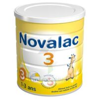 Novalac 3 Lait De Croissance B/800g à Lherm