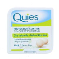 Quies Protection Auditive Cire Naturelle 8 Paires à Lherm