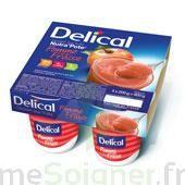 DELICAL NUTRA'POTE DESSERT AUX FRUITS, 200 g x 4 à Lherm