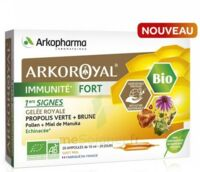 Arkoroyal Immunité Fort Solution buvable 20 Ampoules/10ml à Lherm