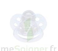 Bébisol Sucette F physiologique silicone transparente / 1er âge à Lherm