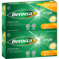 Berocca Energie Comprimés Effervescents Orange B/60 à Lherm
