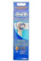 BROSSETTE DE RECHANGE ORAL-B PRECISION CLEAN x 3 à Lherm