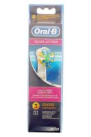 BROSSETTE DE RECHANGE ORAL-B FLOSS ACTION x 3 à Lherm