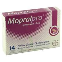 MOPRALPRO 20 mg Cpr gastro-rés Film/14 à Lherm