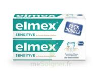 ELMEX SENSITIVE DENTIFRICE, tube 75 ml, pack 2 à Lherm
