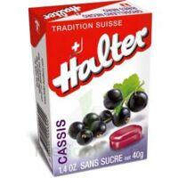 Halter Bonbon Sans Sucre Cassis 40g à Lherm