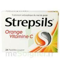 STREPSILS ORANGE VITAMINE C, pastille à Lherm