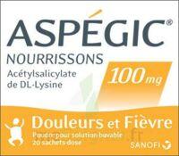 ASPEGIC NOURRISSONS 100 mg, poudre pour solution buvable en sachet-dose à Lherm