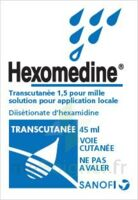 HEXOMEDINE TRANSCUTANEE 1,5 POUR MILLE, solution pour application locale à Lherm