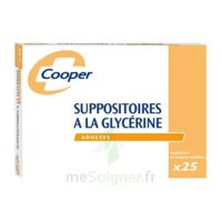SUPPOSITOIRES A LA GLYCERINE COOPER Suppos en récipient multidose adulte Sach/25 à Lherm