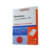 DICLOFENAC RATIOPHARM CONSEIL 1 %, emplâtre médicamenteux à Lherm