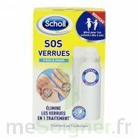 Scholl SOS Verrues traitement pieds et mains à Lherm