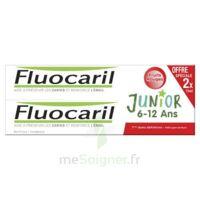 Fluocaril Junior Gel dentifrice Fruits rouges 6/12ans 2*75ml à Lherm