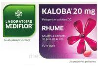 KALOBA 20 mg Cpr pell Plq/21 à Lherm