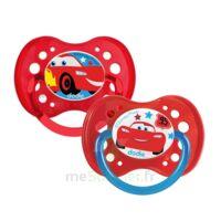 Dodie Disney Sucettes Silicone +18 Mois Cars Duo à Lherm