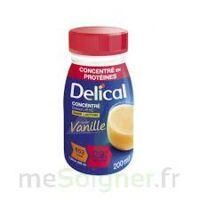 DELICAL BOISSON HP HC CONCENTREE Nutriment vanille 4Bouteilles/200ml à Lherm