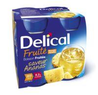 Delical Boisson Fruitee Nutriment Ananas 4bouteilles/200ml à Lherm