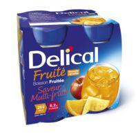DELICAL BOISSON FRUITEE Nutriment multi fruits 4Bouteilles/200ml à Lherm