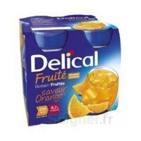 DELICAL BOISSON FRUITEE Nutriment orange 4Bouteilles/200ml à Lherm