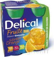 Delical Boisson Fruitee Nutriment édulcoré Orange 4bouteilles/200ml à Lherm