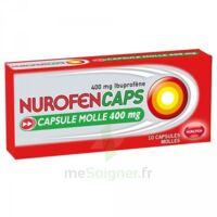 Nurofencaps 400 Mg Caps Molle Plq/10 à Lherm