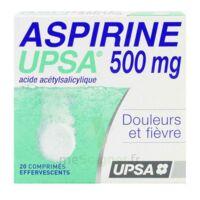 ASPIRINE UPSA 500 mg, comprimé effervescent à Lherm