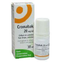 Cromabak 20 Mg/ml, Collyre En Solution à Lherm