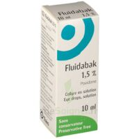 FLUIDABAK 1,5 %, collyre en solution à Lherm