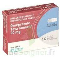 OMEPRAZOLE TEVA CONSEIL 20 mg Gél gastro-rés Plq/14 à Lherm